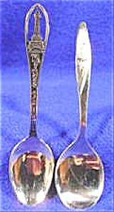 Lot Of 2 Spoons - Kings Island And Baby Spoon