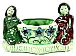 Boy and Girl Oriental Planter - Vintage Ceramic (Image1)