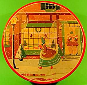 Advertising CANCO Christmas Scene Tin (Image1)
