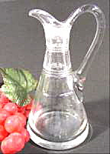 Glass Cruet - Rough Pontil - No Stopper
