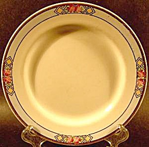 China And Dinnerware - Floral Border 7 In Dessert Plate