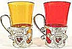 Pair of Plastic Red and Amber Shot Glasses (Image1)