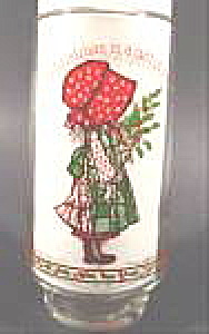 Holly Hobbie Christmas Glass - Limited Edition