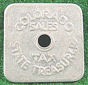 Coins - Tax Token - Colorado State Sales
