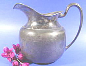 Silverplate Water Pitcher (Image1)