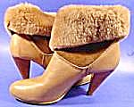 Leather Shoe Boots - Cherokee of California - 10 M (Image1)