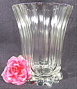 Imperial Glass Candlewick Vase