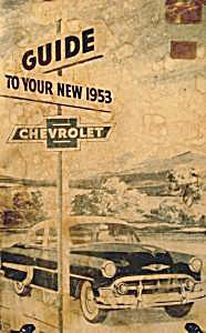 Chevrolet Owners Manual - 1953