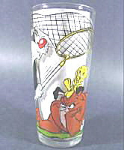 Character Glass - Tweety  and Sylvester - 1976 Pepsi (Image1)