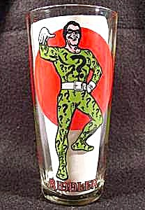 The Riddler - Super Series 1976 Pepsi - Character Glass (Image1)