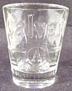 Barware ~ Calvert's Whiskey Shot Glass (Image1)