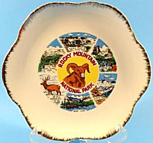 Rocky Mountain National Park Collector Plate