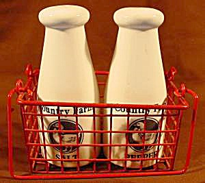 Milk Bottle Shakers With Carrier