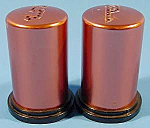 Coppertone Shaker Set - Vintage