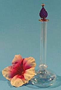 Opalescent Crystal Egyptian Style Perfume Bottle (Image1)