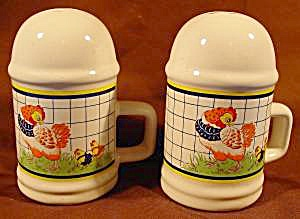 Hen And Baby Chicken Shaker Set