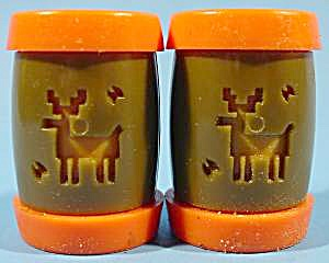 Indian School Shaker Set - Montana - Vintage