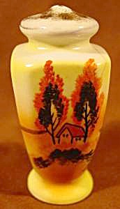 Kitchen Collectibles - Hand Painted Scene Shaker
