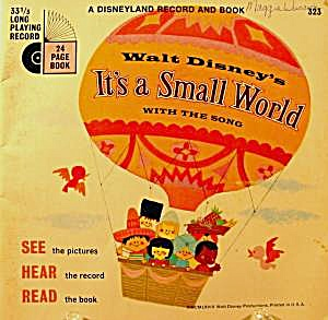 Children's Book ~ It's A Small World ~ Disney #323 (Image1)