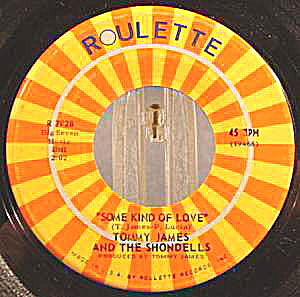 Tommy James and The Shondells  ~ 1968 ~ 45RPM Recording (Image1)