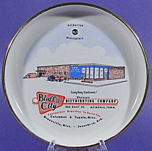 Advertising Ashtray ~ Bluff City Distributing Company (Image1)