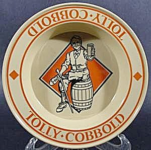 Ashtray ~ Melamine ~ Advertising Tolly Cobbold Ale (Image1)