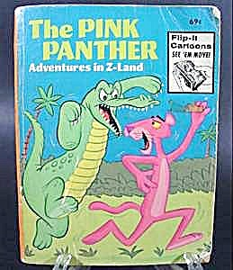 Big Little Book - Pink Panther In Z-land - 1976