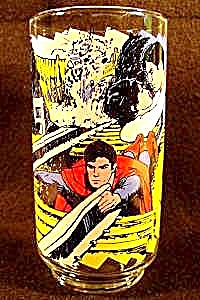 Superman Glass - Caped Wonder To The Rescue - 1978 (Image1)
