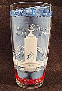 Civil War Centennial Drinking Glass (Image1)