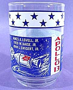 Apollo Mission Series Glass - Apollo 13 - 1970 (Image1)