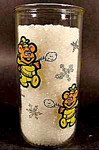 Fossie Bear Muppet Baby Character Glass - Kraft 1989 (Image1)