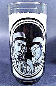 Actors Abbott and Costello Glass - Arby's 1979 (Image1)