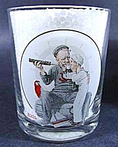 Norman Rockwell Glass - Setting One's Sight