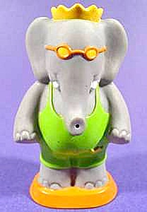 Babar Elephant Squirter Toy - Arby's - 1992