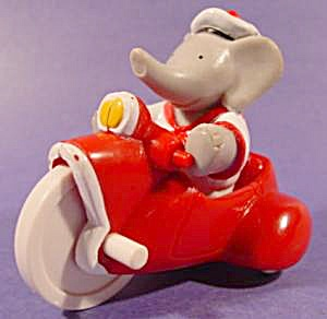 Arthur on Tricycle - Babar's - Arby's Kids Meal 1990 (Image1)