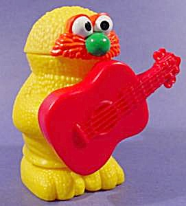 Muppet Workshop Happy Meal Toy - Yellow Monster 1995