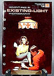 Existing Light Photography Book - Eastman Kodak 1976