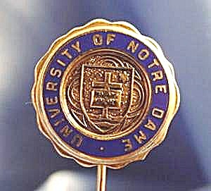 University Of Notre Dame Stick Pin