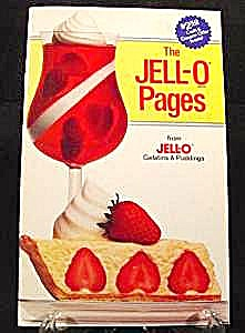Jell-o Pages Recipe Cookbook - 1987