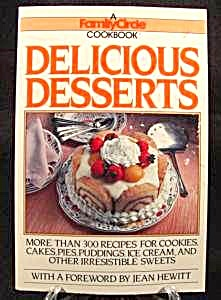 Delicious Desserts Cookbook - Cook Book - 1984