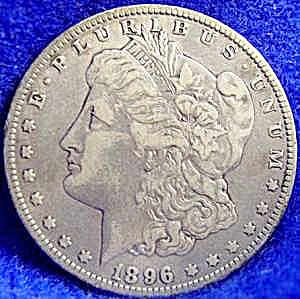 Morgan Type Silver Dollar - 1896 O