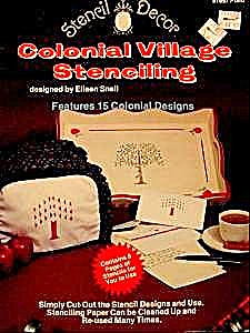 Colonial Village Stenciling Book  (Image1)