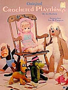 Crocheted Playthings Book - 16 Projects - Vintage