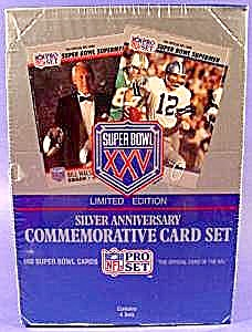 Nfl Pro Set Super Bowl Xxv Cards - Limited Edition 1989