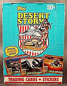 Desert Storm 1991 Coalition For Peace 288 Card Set (Image1)