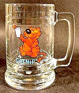 Heathcliff - Catnip Glass Mug by George Gately (Image1)