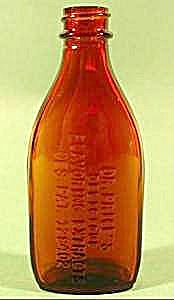 Dr. Prices Amber Flavoring Extract Bottle
