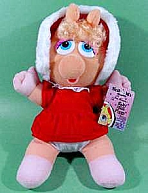 Baby Miss Piggy Plush Doll - Mint with Tags (Image1)