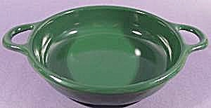 Hunter Green Graniteware Handled Bowl - 7 inch (Image1)