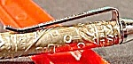 Souvenir Collectible Sterling Silver Pen - Israel -1950